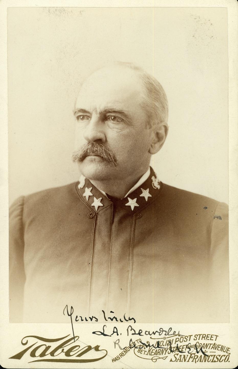 Admiral Lester A Beardslee