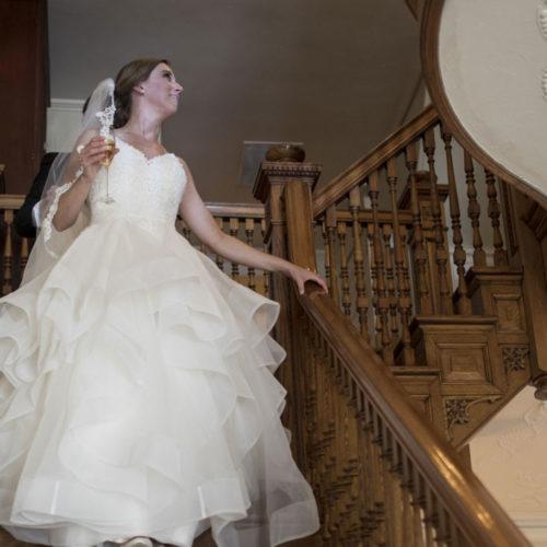 Brideonstairs